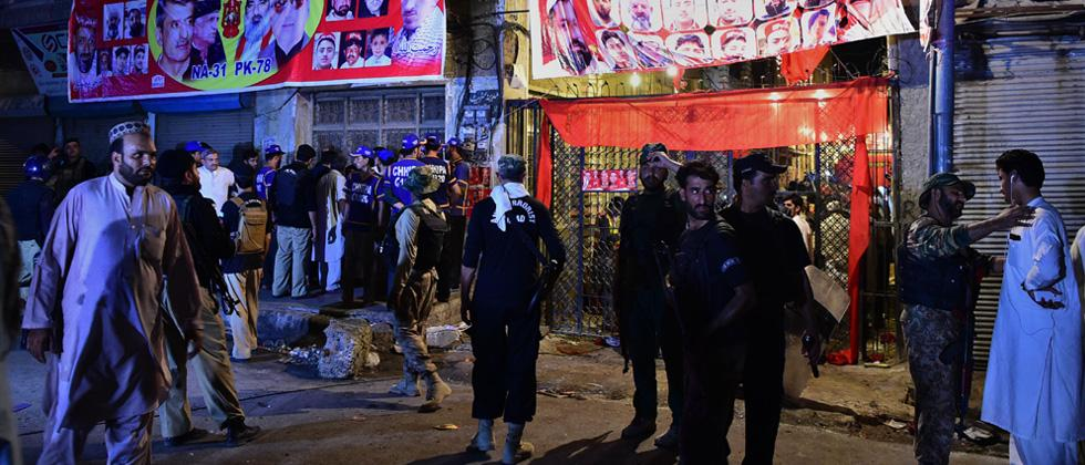 ANP leader Haroon Bilour among 12 killed in blast at Pak poll rally