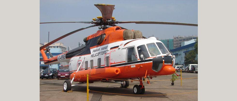 Pawan Hans chopper missing off Mumbai, 5 on board