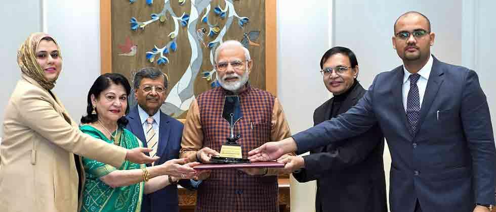 PM receives Philip Kotler award