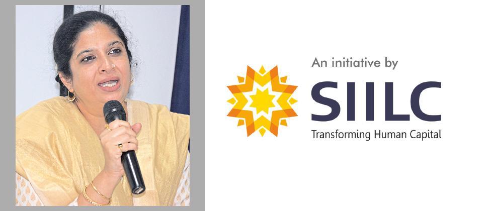 Actress Chinmayee Sumeet mentors students at SIILC