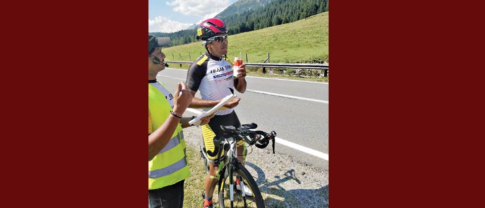 Gokulnath becomes first solo Indian to finish 'Race Around Austria'