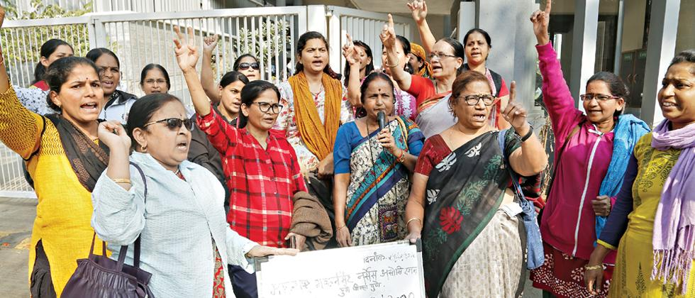 MGNF stages protest across Maharashtra