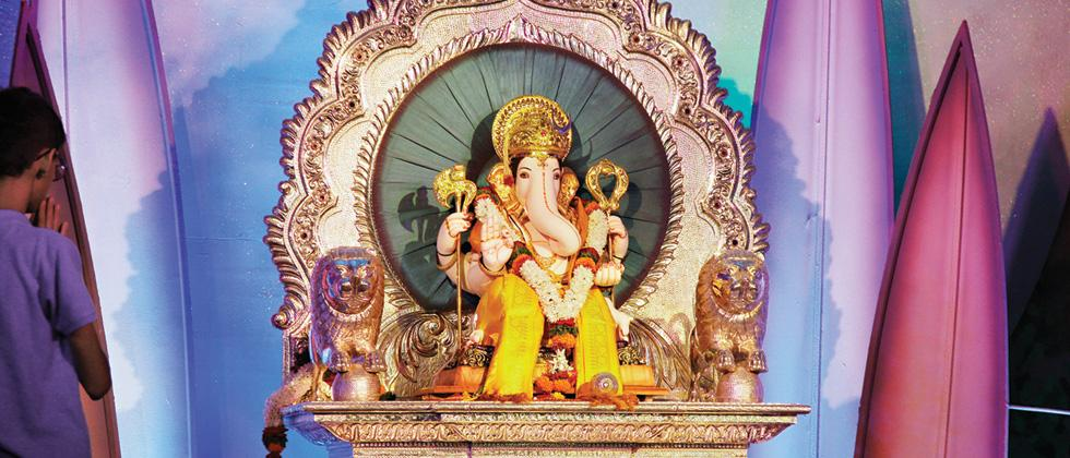 Manache Ganpati all set for festivities