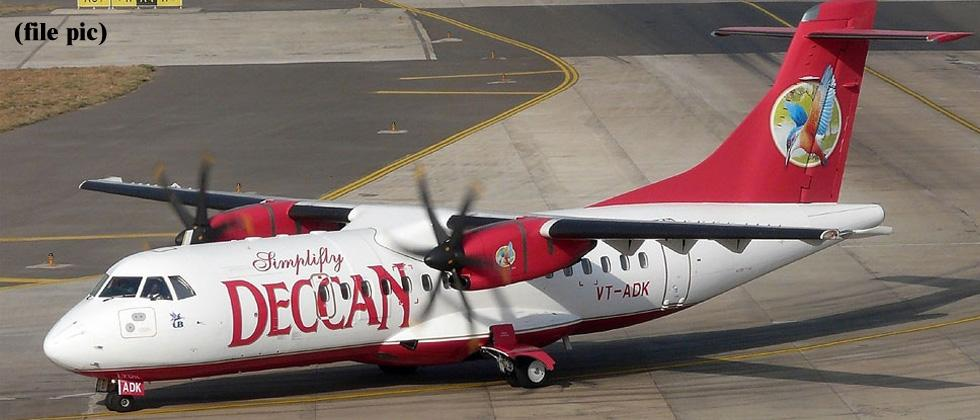 Pune-Nashik UDAN service withdrawn by Air Deccan