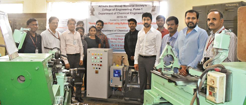 Pilot STP of new technology set up at AISSMS campus