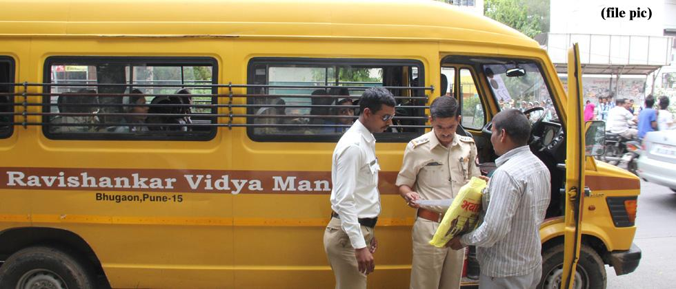 RTO seizes 38 school vehicles