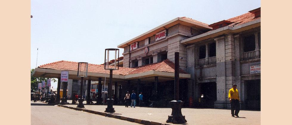 Pune Railway Station (file pic)