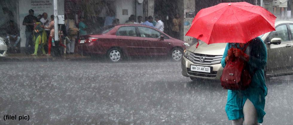 Rain expected before October heat sets in