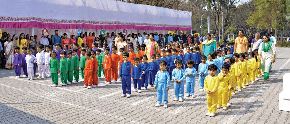 Sports Day held at St Marys Church Nursery School