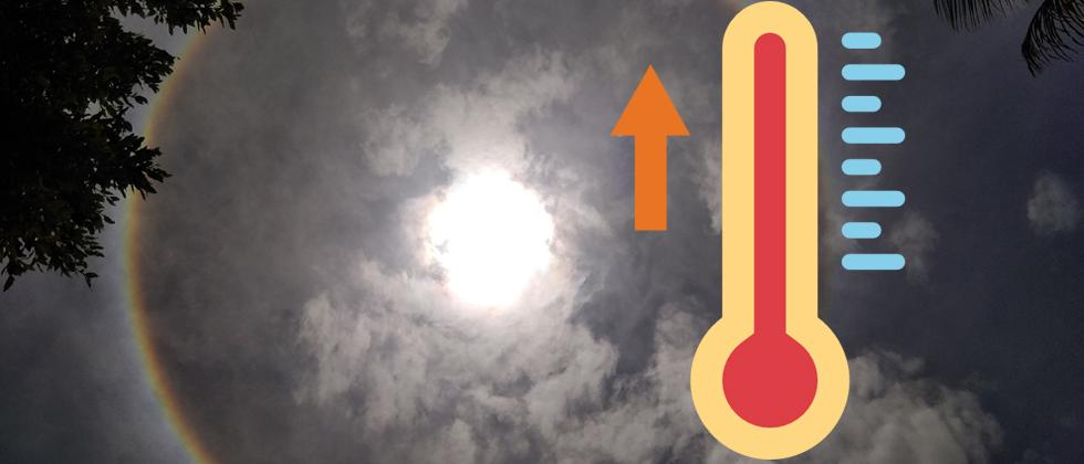 State sees rise in temperature