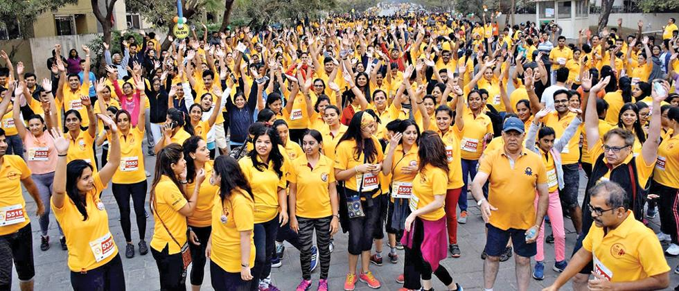 'Street to life' hosts unity run for girl child in Wakad