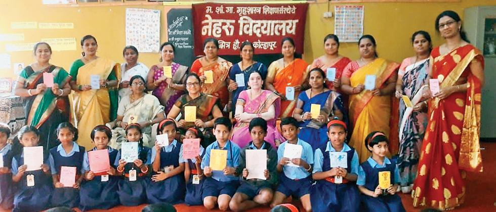 Teachers help Std IV students write 20 story books