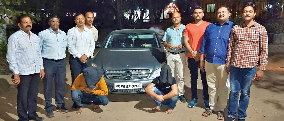 Thieves driving Mercedes to escape cops held in Lonavla