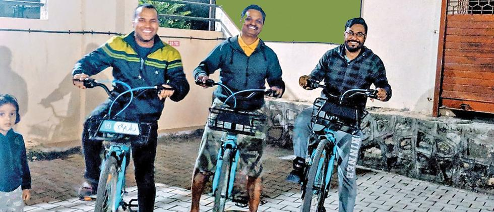 Wagholi residents to use bicycle sharing system