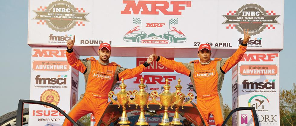 Gill and Ghosh make it 1-2 for Mahindra