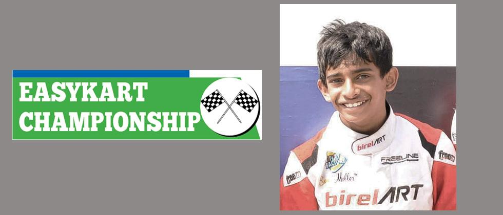 Yet another podium finish for Ruhaan