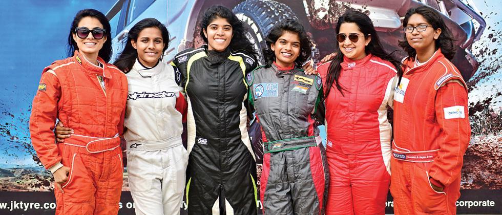 Women get their due in Formula Racing