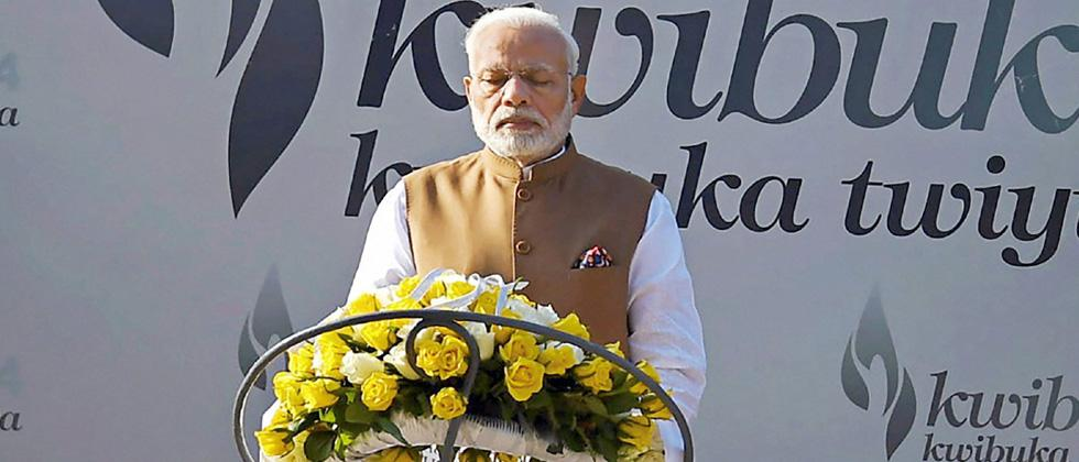 Modi hails Indian diaspora's 'very positive' influence on India-Rwanda friendship