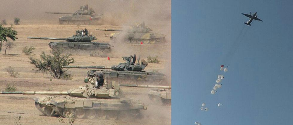 Southern Command conducting exercise in Rajasthan