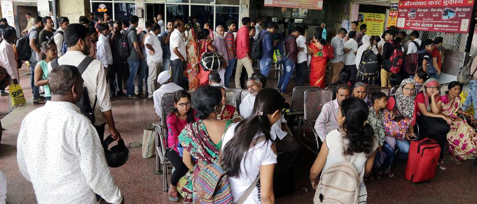 Passengers suffer due to sudden strike by MSRTC staff
