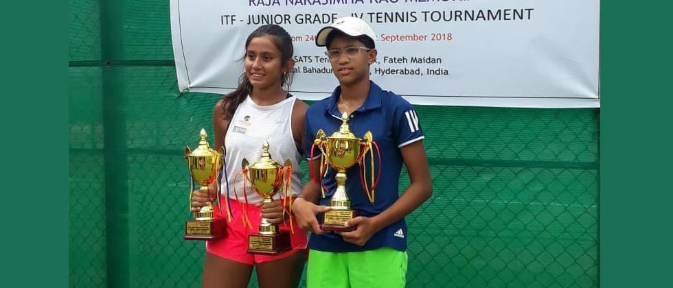 Salsa emerges 2nd best in Grade 4 ITF Jr