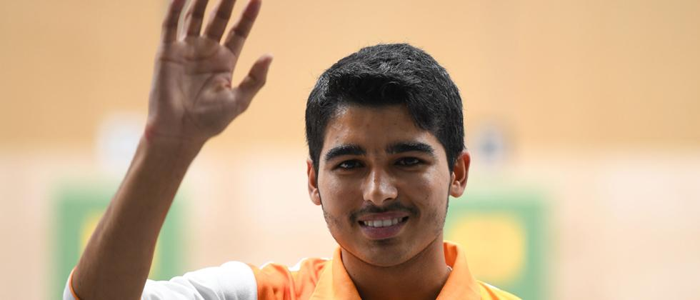Saurabh tops junior 10m air rifle, bronze for Arjun at Shooting Worlds