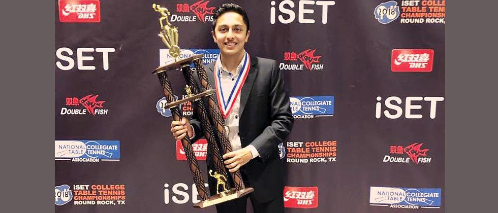Dani helps New York University to clinch iSET College Nat'l TT c'ship
