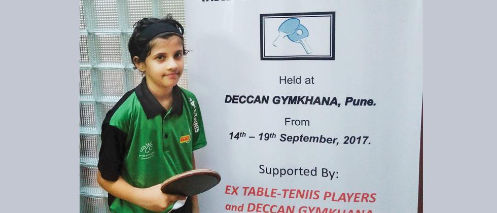 Jhanhavi Phanse wins midget title
