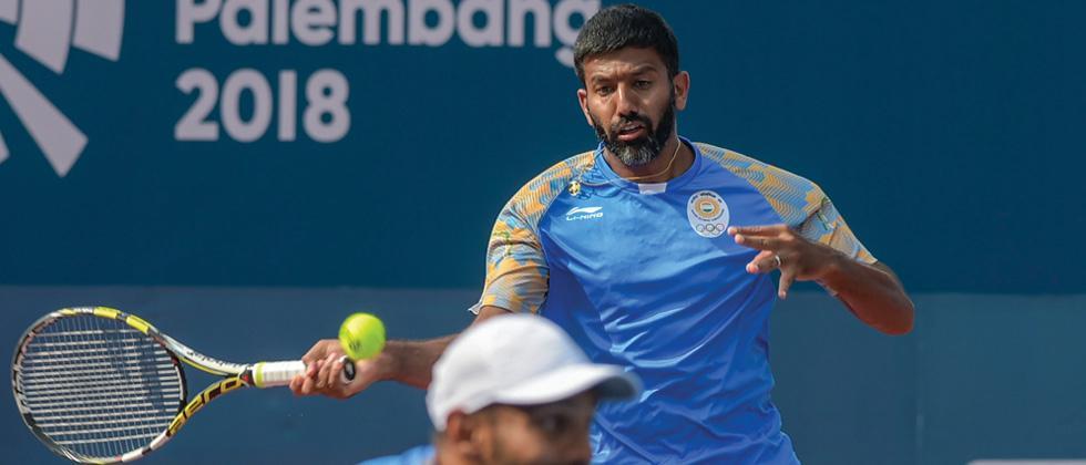 Bopanna-Sharan pair lands men's doubles gold at Asian Games