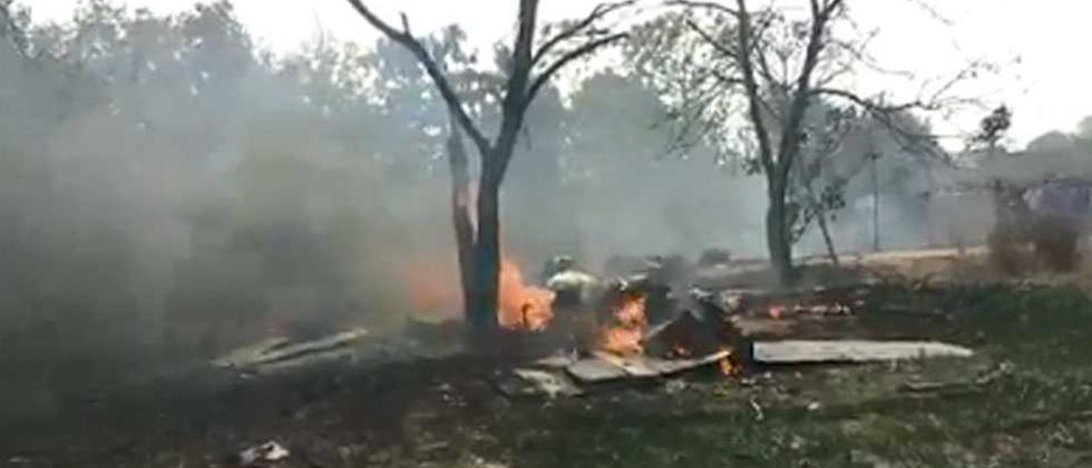 IAF's Jaguar crashes, pilot safe