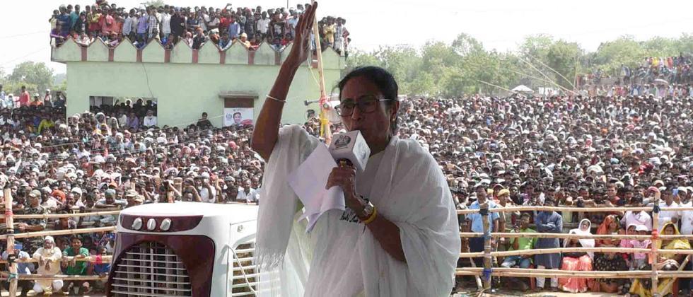 LokSabha 2019: Modi failed to give 'laddoo' to West Bengal, now BJP will get 'rosogolla': Mamata Banerjee