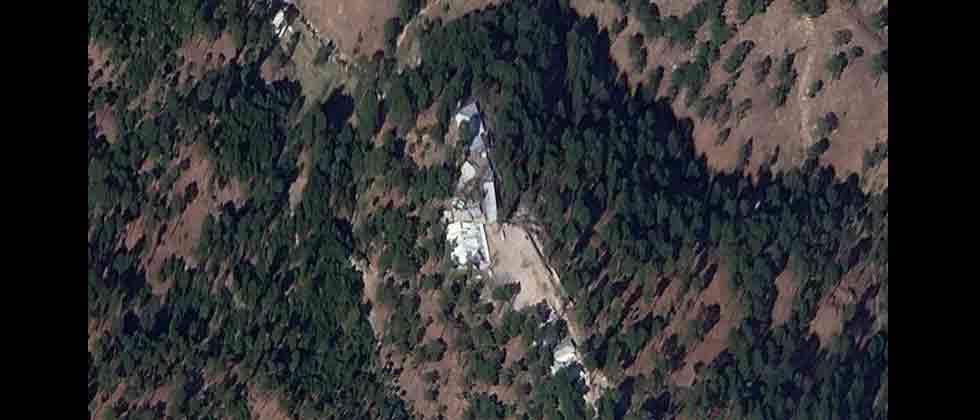 Images show madrasa buildings still standing at Balakot