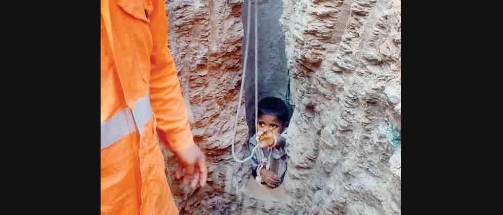 After 16 hrs, 6-yr-old boy rescued from well