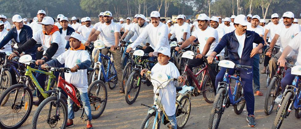 BPCL holds awareness rally on fuel conservation