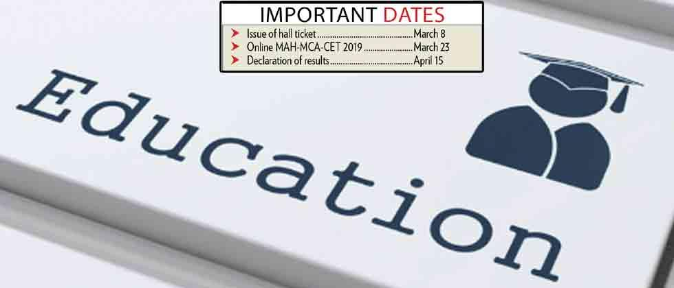 MCA CET to be held on March 23