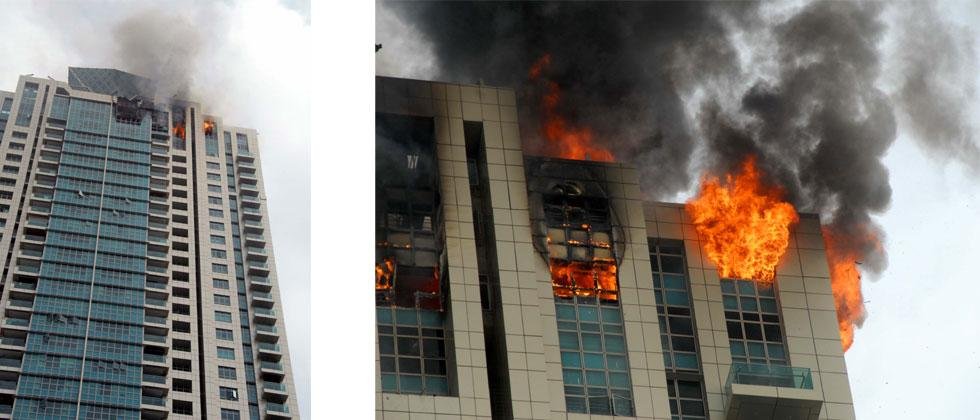Fire in Mumbai building, over 90 evacuated