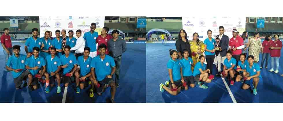 Maharashtra teams settle for bronze medals
