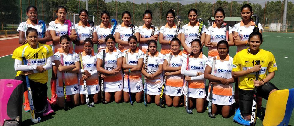 Hockey India names 20-member Indian Women's Team for Korea Tour