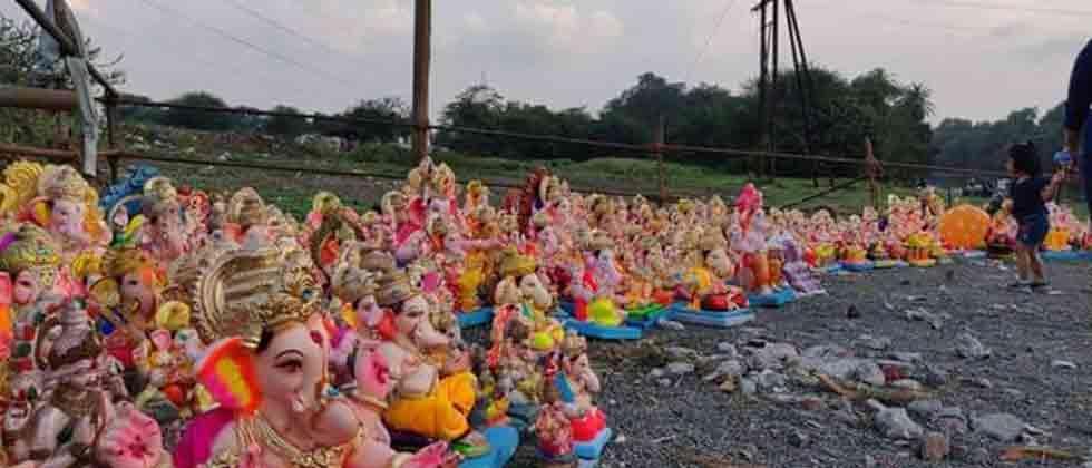 3,788 Ganesh idols donated this year