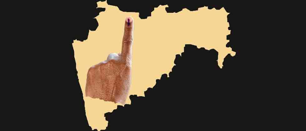 42.03 pc voter turnout till 3 pm in Maharashtra