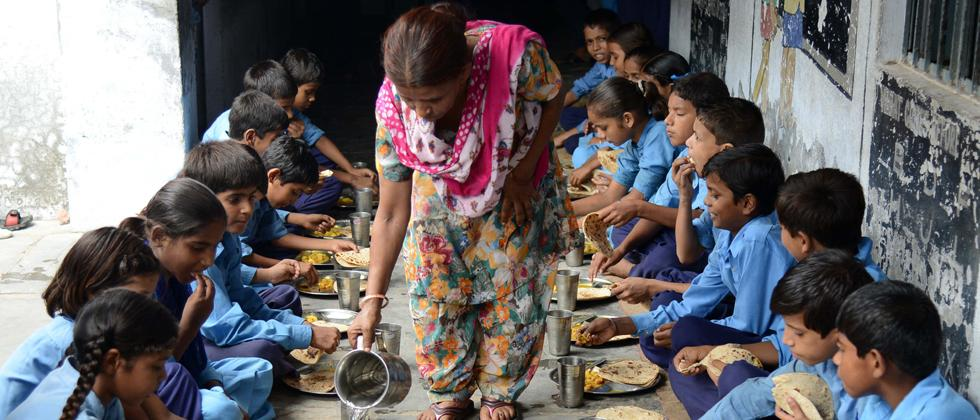 Milk powder to be given in mid-day meal