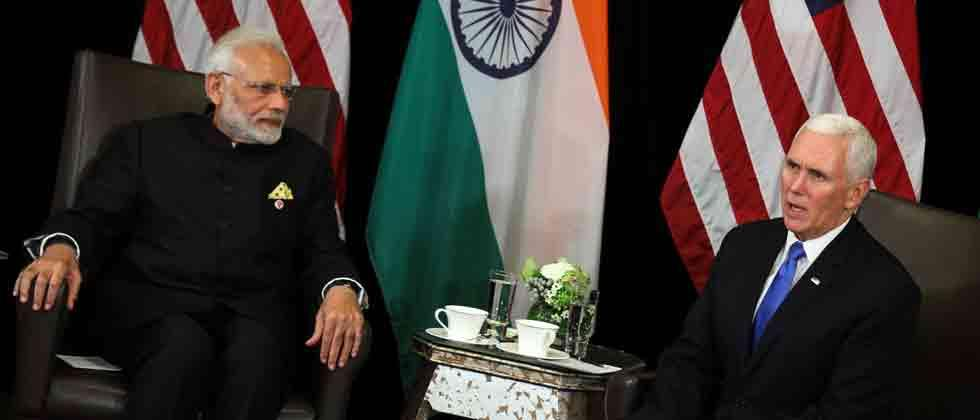 PM Modi, Pence discuss defence, trade and cooperation in Indo-Pacific