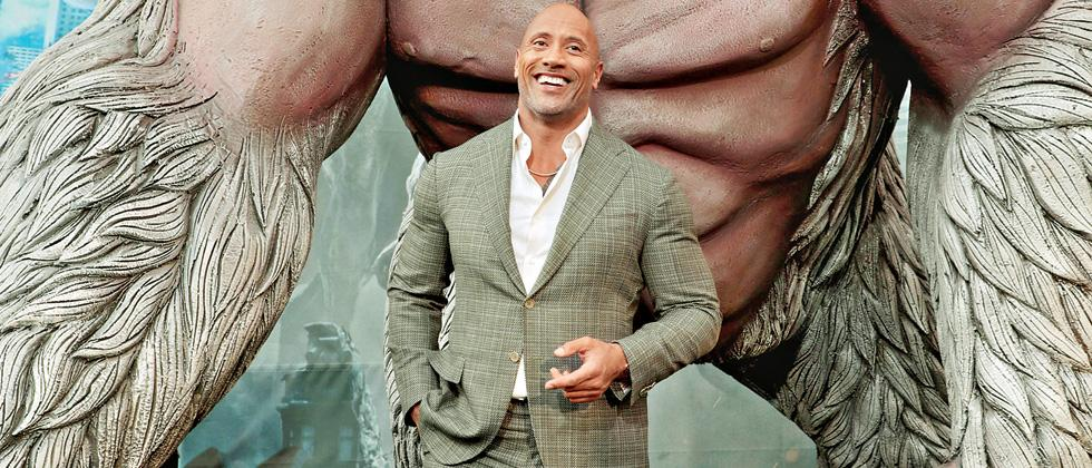 'Humour is a critical element in 'Rampage'