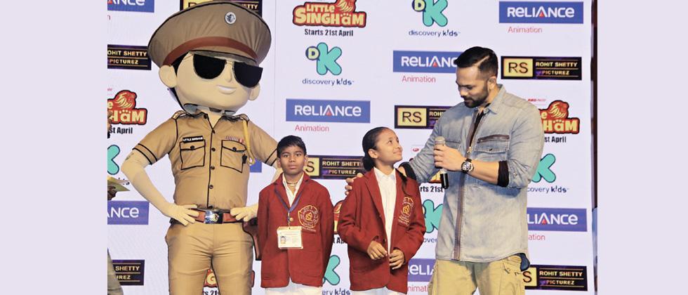 ICCW bravery award winners meet Rohit Shetty