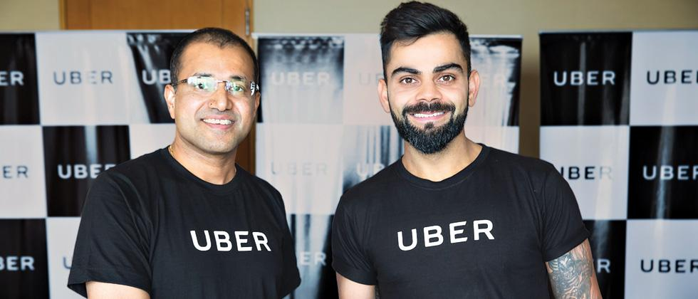 Uber signs up Kohli as brand ambassador