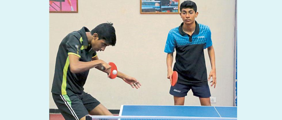 Saai Bagate and Sriyash Bhosale in action