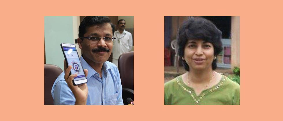 Tukaram Mundhe and Nayana Gunde