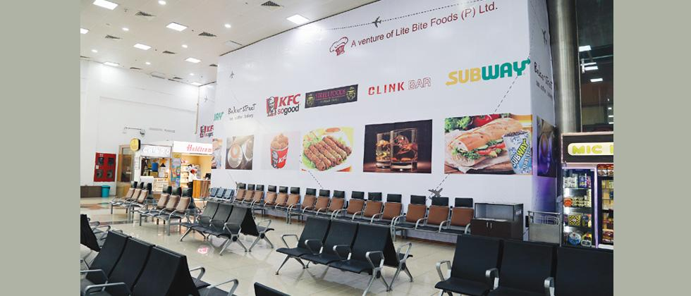 A multi-branded restaurant with a capacity of 150 passengers will open soon at Pune airport.