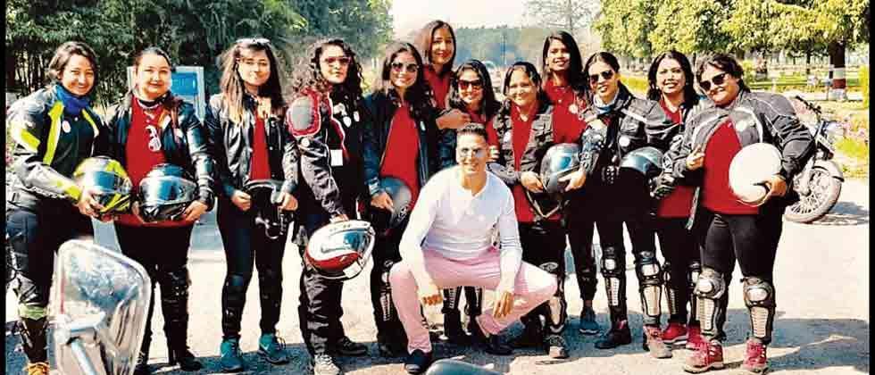 Akshay goes pink this International Women's Day