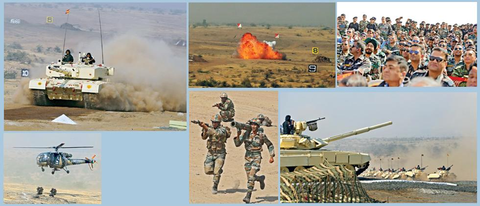 Army displays firepower in Ahmednagar